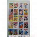 Timbres Japonais 50eme anniversaire du magazine Weekly Comic B