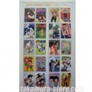 Timbres Japonais 50eme anniversaire du magazine Weekly Comic A