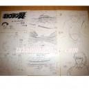 Setting_ captain tsubasa-sketches olive et tom decors