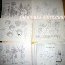 Tom Sawyer model sheets