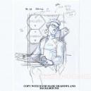 Evangelion sketch hanken carddass R472