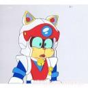 Samurai Pizza Cats anime cel R512