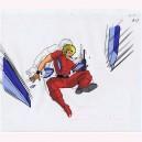 Space Cobra anime cel R643