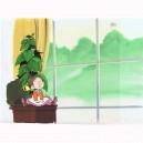 Spoon Oba-san anime cel R729