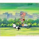 Minky Momo anime cel R