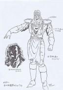 Ken Le Survivant Model Sheet