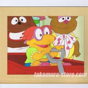Muppet Babies Anime cel
