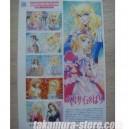 Timbres japonais edition limitee Lady Oscar (Araki/Himeno)