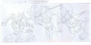 Saint Seiya Hades sketch PAN episode 1