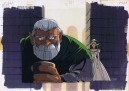 Record of Lodoss War anime cel