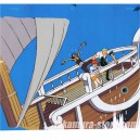 One piece celluloid