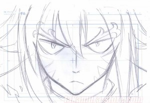 Fairy Tail original sketch