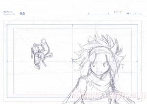 Crayonné original Fairy Tail