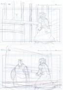 Lot de 2 crayonnés originaux Fairy Tail