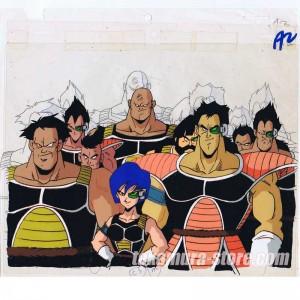 Dragon ball Z Bardock - The Father of Goku anime cel