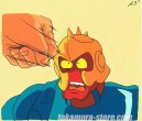 Muscle Man anime cel