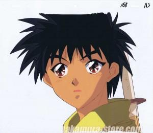 Kenshin anime cel