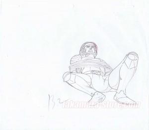 Captain Future set of sketches