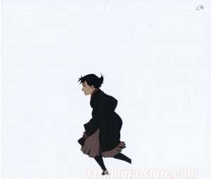 Millennium Actress Anime Cel