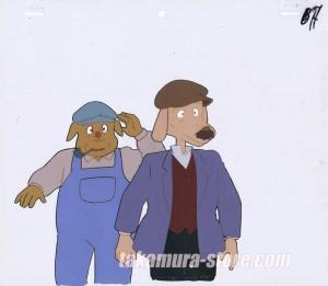 Sherlock Holmes anime cel