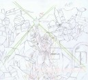 Dragon Ball Z - L'histoire de Trunk crayonné original