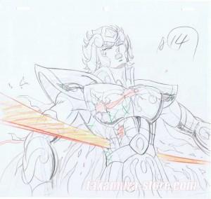 Saint Seiya sketch