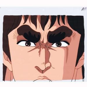 Hokuto no Ken anime cel