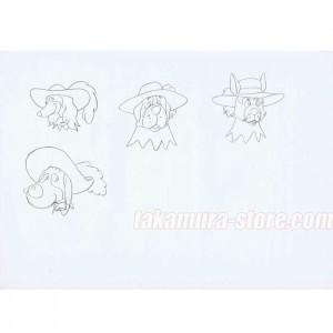 Woof-woof Three Musketeers HANKEN sketch