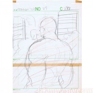 City Hunter Sketch