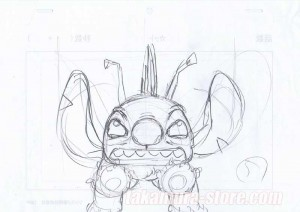 Lilo and Stitch set of 2 sketches
