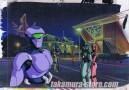 Robot Carnival anime cel