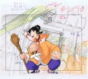 Dragon ball Z anime cel + layout