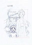 Evangelion sketch hanken carddass