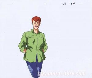 YuYu Hakusho anime cel