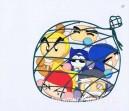 Bomber Man anime cel