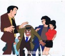 Lupin the 3rd anime cel
