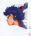 Yoroiden Samourai Troopers Anime cel