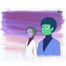 Maeterlinck's Blue Bird anime cel