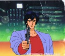 City Hunter anime cel