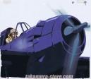 The Cockpit anime cel