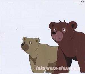 Seton Animal Chronicles anime cel - LAST EPISODE