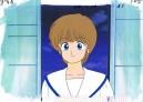 Kimagure Orange Road anime cel