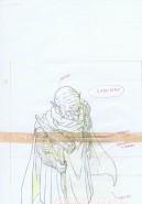 Dragon Ball Z original sketch
