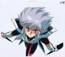 Iczer Reborn anime cel