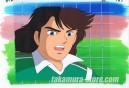 Moero Top Striker anime cel