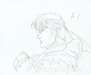 Street Fighter 2 the movie - set of 8 original sketches