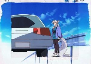 Hyper police_024 anime cel