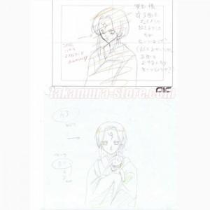 Vampire Princess Miyu_sketch 011 吸血姫 美夕セル画