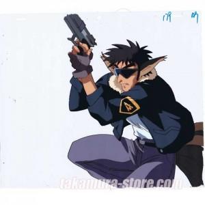 Hyper Police anime cel_056 はいぱーぽりすセル画