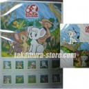 Japanese stamps Jungle Taitei Susume Leo